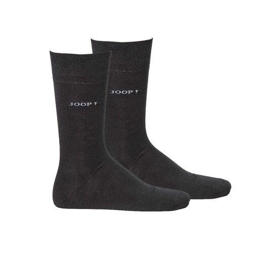 Joop! Kurzsocken »Herren Socken 2 Paar, Basic Soft Cotton Sock«, Schwarz