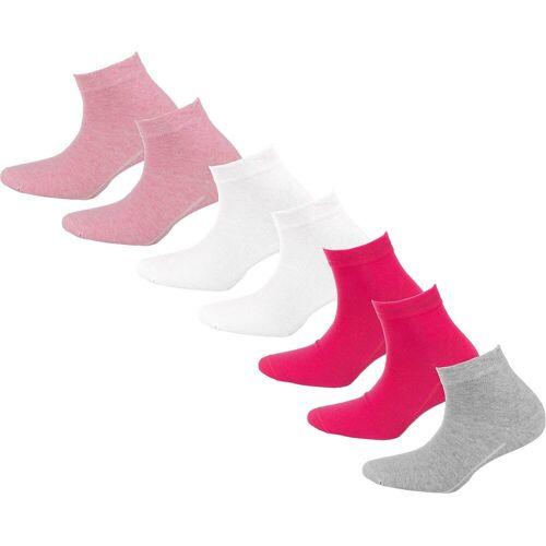 Camano Socken »7er Pack Socken«, rosa