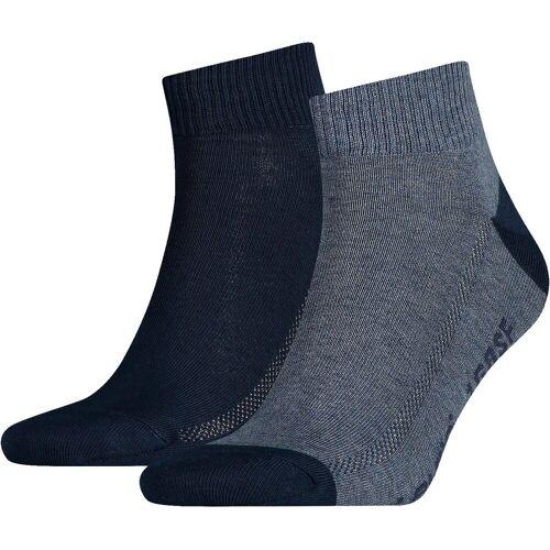 Levi's® Sneakersocken »2 Paar Kurzsocken Socken«, blau