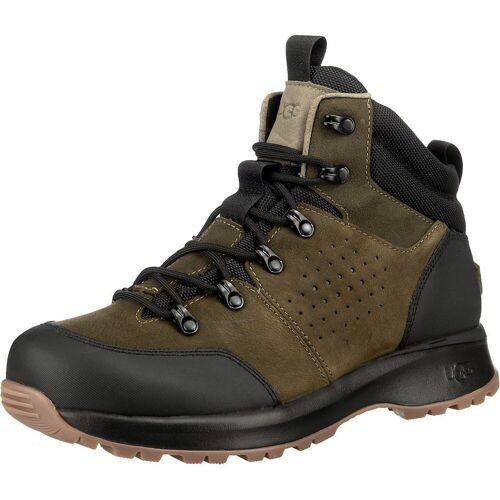 UGG »Emmett Boot Mid Wp Wanderstiefel« Wanderstiefel, grün