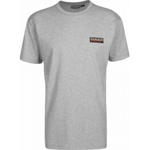 Napapijri T-Shirt »Sase 1«, med grey mel