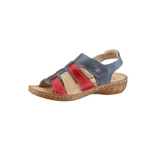 Airsoft Sandale, blau-rot