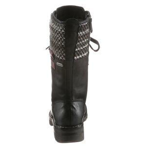 MARCO TOZZI »Grande« Schnürstiefel im Bergsteiger-Style, schwarz-grau