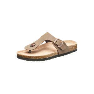 CRUZ »Barns« Sandale mit Kork- und Naturkautschuksohle, grau