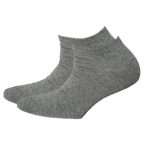 Esprit Sneakersocken »Sneaker Damen Set 2 Paar Uni Sneaker Socks«, Grau