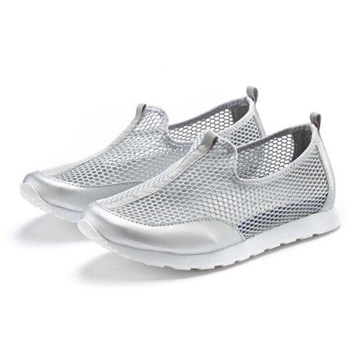 LASCANA Sneaker mit atmungsaktiven Mesh-Einsätzen