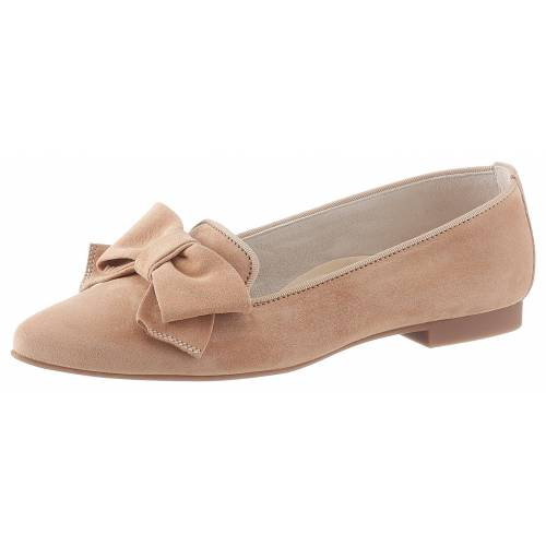 Paul Green Slipper in eleganter, spitzer Form, beige