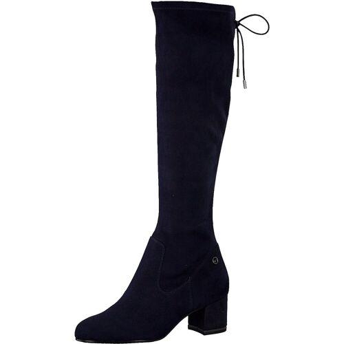 Tamaris Overknees »Overknee-Stiefel«, dunkelblau