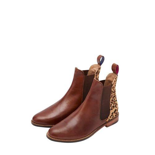 Tom Joule Boots in elegantem Design, Leopard