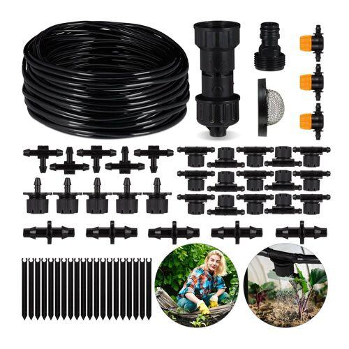 relaxdays Bewässerungssystem »DIY Bewässerungssystem Garten 20m«