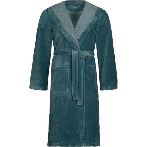 Vossen Unisex-Bademantel »Lynn«, , Microfaser, cadet blue
