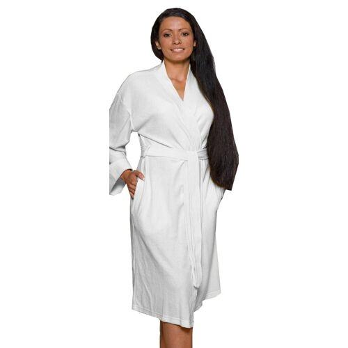 Lashuma Bademantel, , - der leichte Bademantel für Frauen, weiß