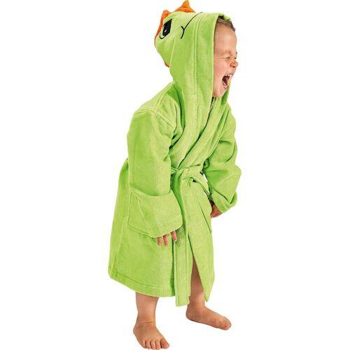 Wewo fashion Kinderbademantel »8205«, , mit bestickter Kapuze