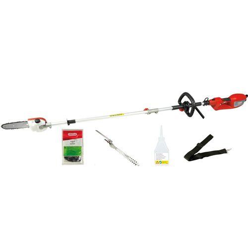 Grizzly Tools Elektro-Heckenschere »EHS 900-2 L+HEK Set«, bis 3,5 m Arbeitshöhe
