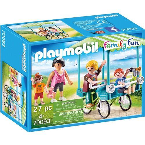 Playmobil Spielfigur »70093 Familien-Fahrrad«