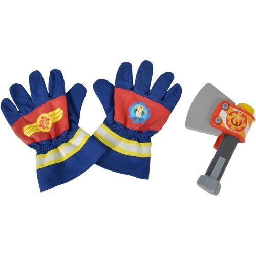 SIMBA Kostüm »Feuerwehrmann Sam - Feuerwehrhandschuhe und Axt«