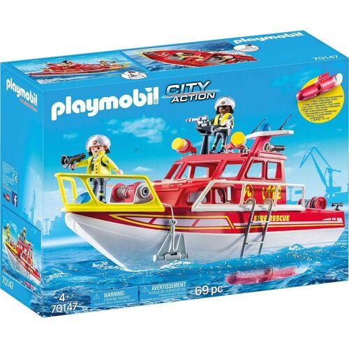 Playmobil Spielfigur »70147 Feuerlöschboot«