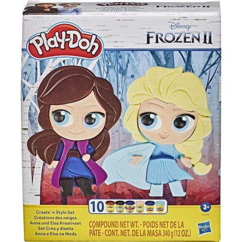 Hasbro Knete »Play-Doh Frozen 2 Create n Style Knetset«