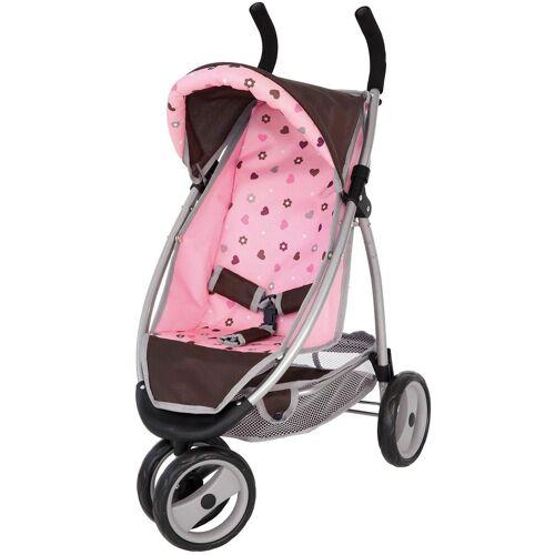 Bayer Puppenwagen »Puppenwagen Jogger rosa«