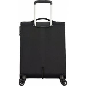 American Tourister® Weichgepäck-Trolley »Crosstrack, 55 cm«, 4 Rollen, Black/Grey