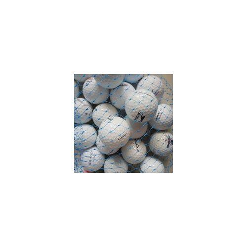 Golf und Günstig Lakeballs Marken Mix weiss 25er Netz Qualität AAA/AA