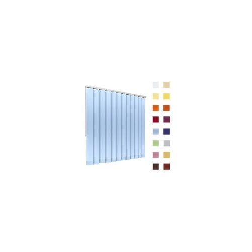 Lamellenvorhang, Lamellen, Vertikallamellen, auf Mass gefertigt, hellblau