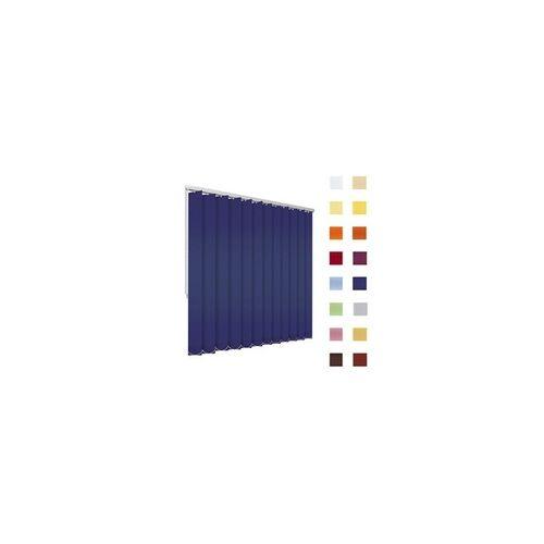 Lamellenvorhang, Lamellen, Vertikallamellen, auf Mass gefertigt, blau