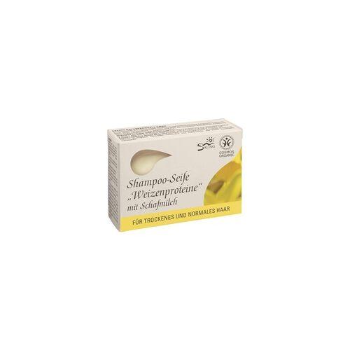 Saling Haarseife Weizenproteine m. Schafmilch 125 g