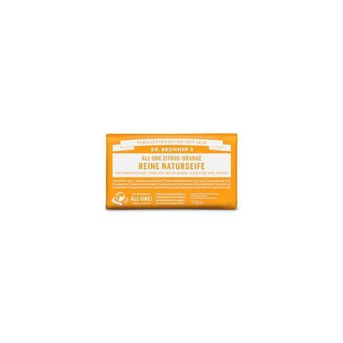 Dr. Bronners Europe gmbH Dr Bronners Zitrus-Orange Reine Naturseife 140 g