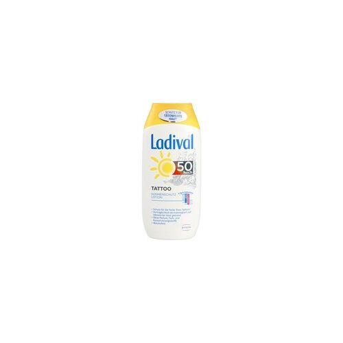 STADA LADIVAL Tattoo Sonnenschutz Lotion LSF 50 200 ml