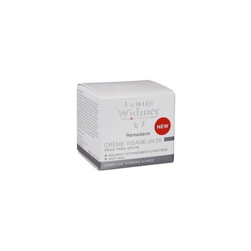Louis Widmer WIDMER Remederm Gesichtscreme UV 20 leicht parfüm. 50 ml