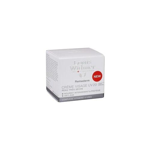 Louis Widmer WIDMER Remederm Gesichtscreme UV 20 unparfümiert 50 ml
