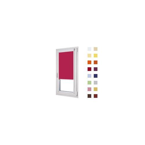Kassettenrollo, Glasleistenrollo guenstig nach Mass oder in Standardgroessen, Farbe pink