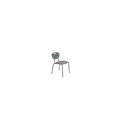 ZUIVER 2er Set Stuhl Aspen - grau