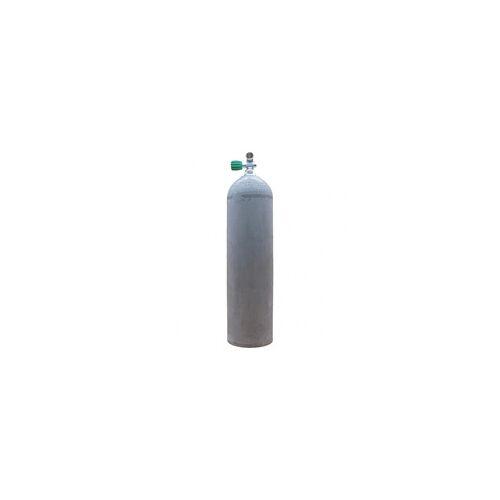 Polaris MES 11,1 L Aluflasche natur 207 bar mit Nitrox Ventil 12400LI