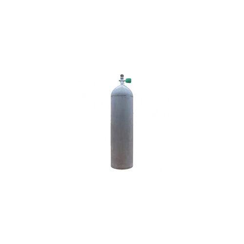 Polaris MES 11,1 L Aluflasche natur 207 bar mit Nitrox Ventil 12400RE