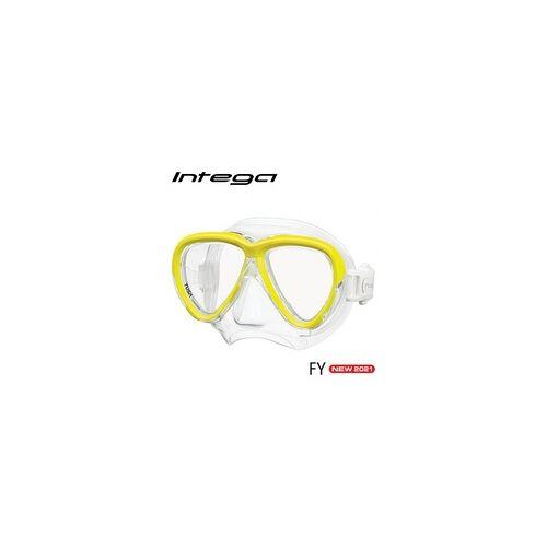 TUSA Intega - Tauchmaske - Flash Yellow