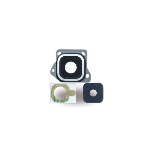 Cyoo Kameralinse + Kamerafenster für Samsung A300F Galaxy A3 (2015), schwarz