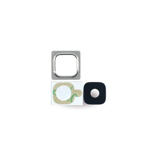 Cyoo Kameralinse + Kamerafenster für Samsung G800F Galaxy S5 Mini, blau