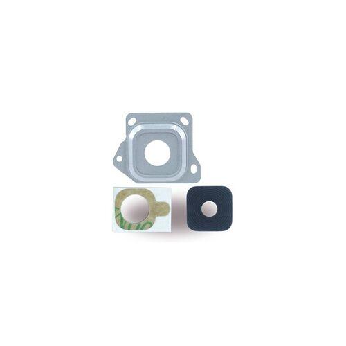 Cyoo Kameralinse + Kamerafenster für Samsung A300F Galaxy A3 (2015), silber