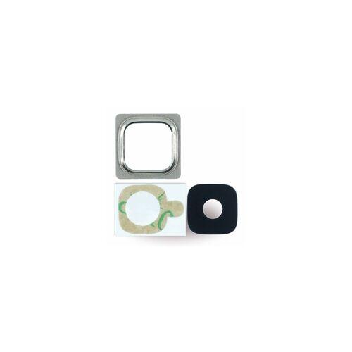 Cyoo Kameralinse + Kamerafenster für Samsung G800F Galaxy S5 Mini, gold