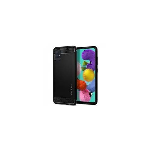 Samsung Spigen Samsung Galaxy A51 Case - Schwarz