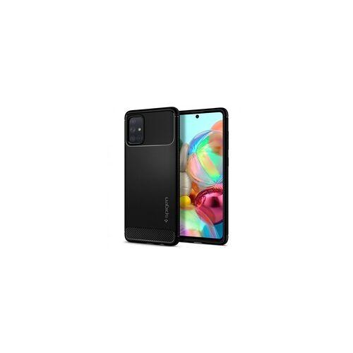 Samsung Spigen Samsung Galaxy A71 Case - Schwarz