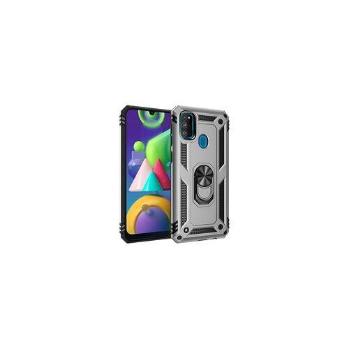 Samsung Hülle für Samsung Galaxy M21 - Silber