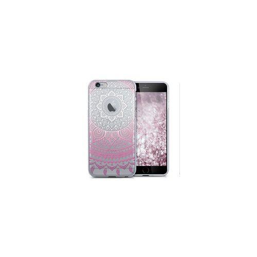 Hülle für iPhone 5 / 5s / SE - Pinkes Mandala
