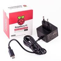 Raspberry offizielles Raspberry Pi USB-C Netzteil 5,1V / 3,0A, EU, schwarz