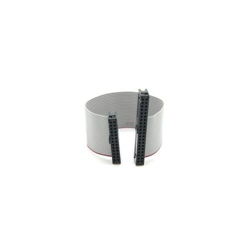BerryBase GPIO Adapter-Kabel für Raspberry Pi, 40 Pin Buchse  26 Pin Buchse, grau...