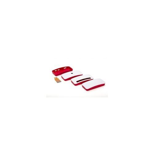 Raspberry offizielles Gehäuse für Raspberry Pi Zero rot/weiß
