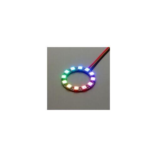 frei NeoPixel Ring mit 12 WS2812 5050 RGB LEDs