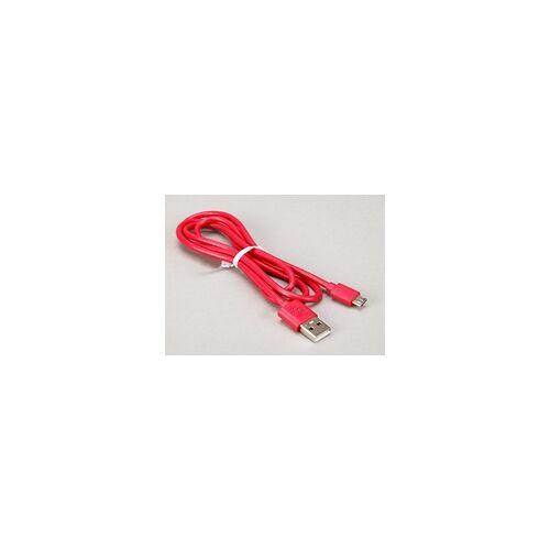Raspberry offizielles Raspberry Pi Micro USB Kabel, rot, 1,0m